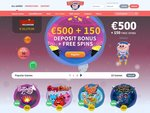 GalaxyPig Casino Home Page