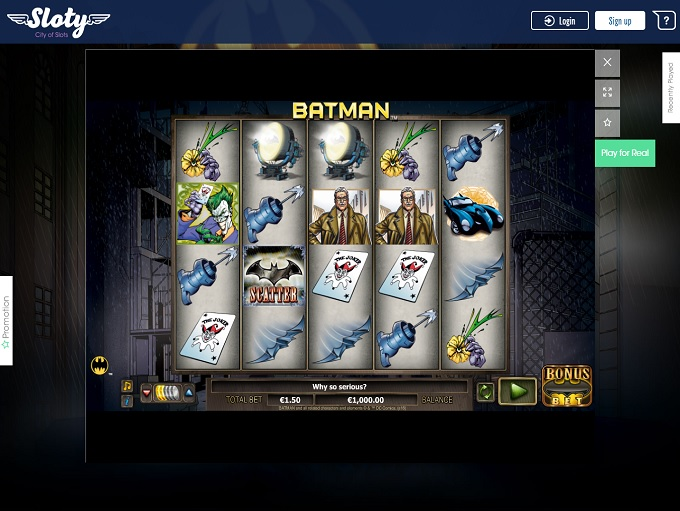 sloty online casino review
