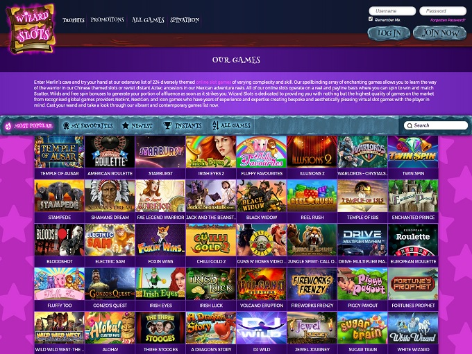 download online casino the gaming wizard