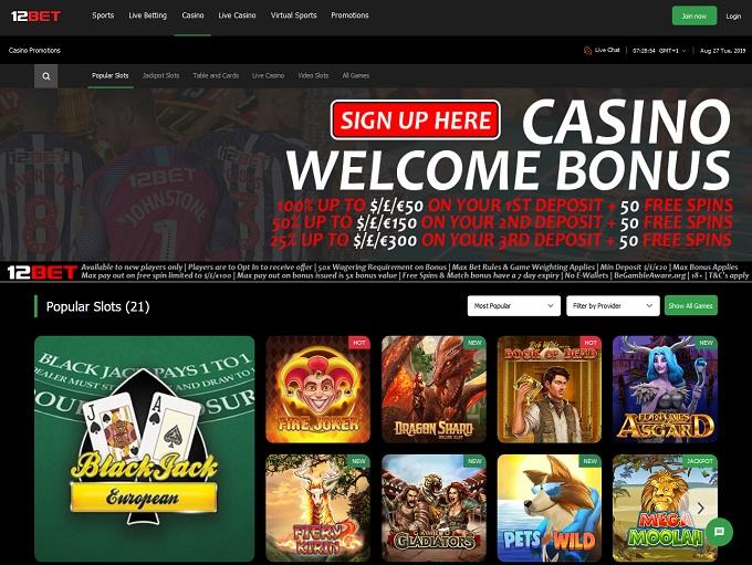 12bet Casino