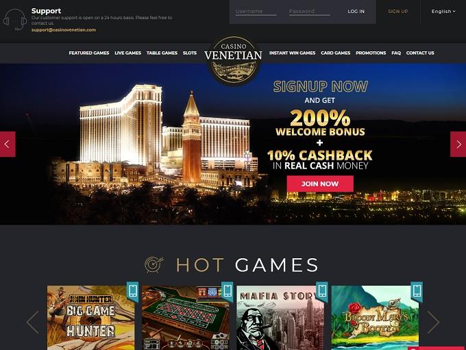 Casino Venetian Online
