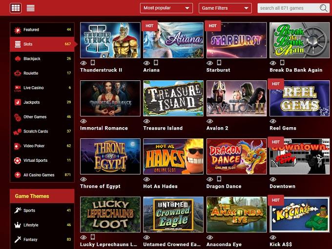 Mongoose Casino Review and Bonuses