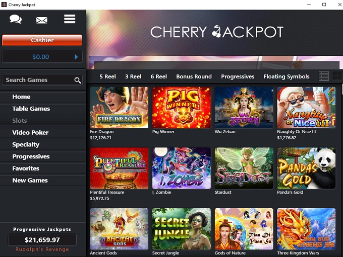 Cherry Jackpot Online Casino Review