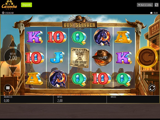 Casimba Casino Login