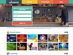 Winneroo Casino Home Page