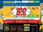 Fantastic Spins Home Page