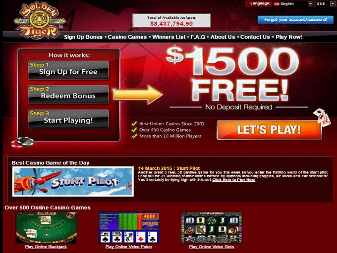 Золотий тигр казино інтернет-форум сайт Інтернет-казино