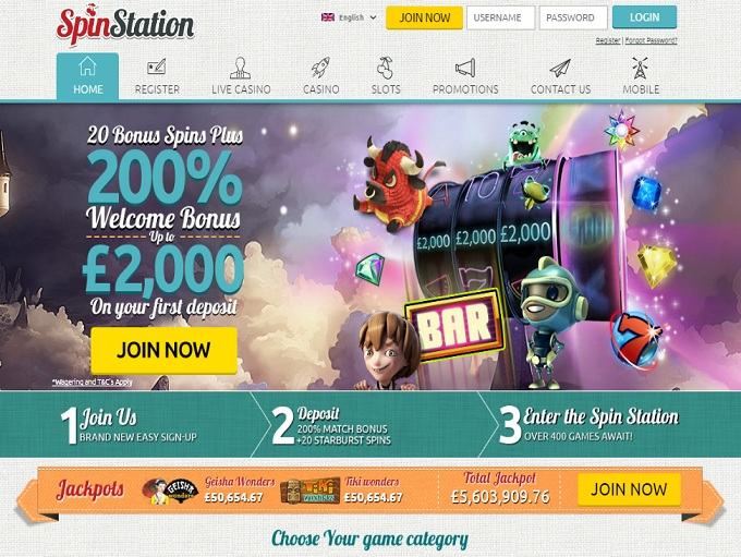 Casino home page station casino signup chips