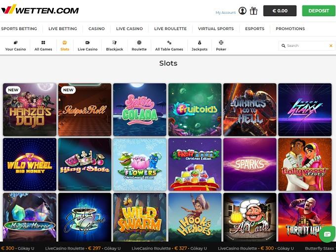 Wetten Casino Online