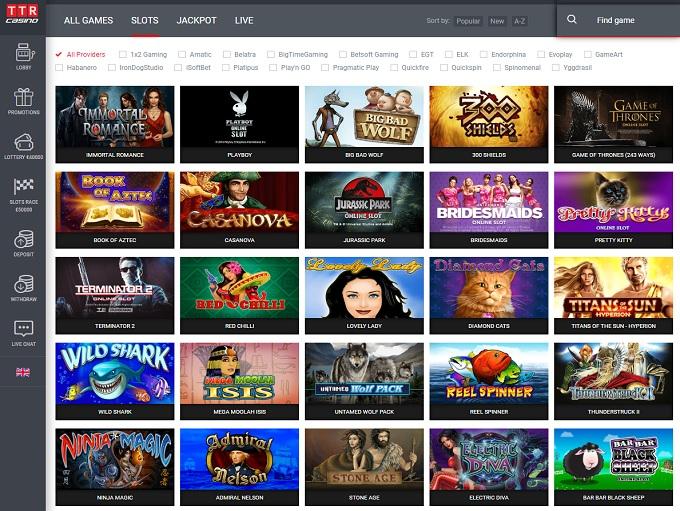 Ttr casino online покер онлайн играть мини игры