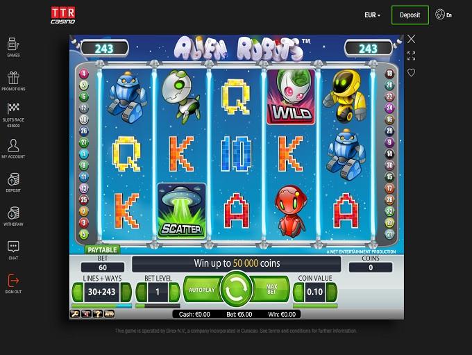 ttr casino online