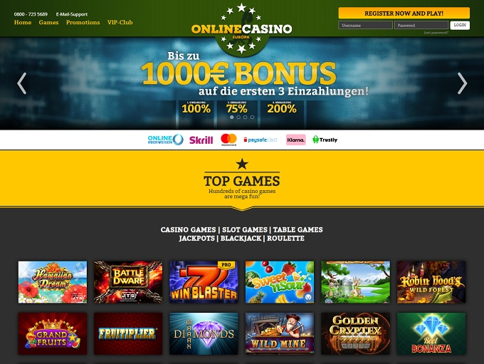 Deutschlands beste Online Casinos 2020