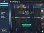 Roaring 21 Casino Home Page