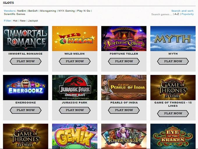 Toms Casino Online Casino Review