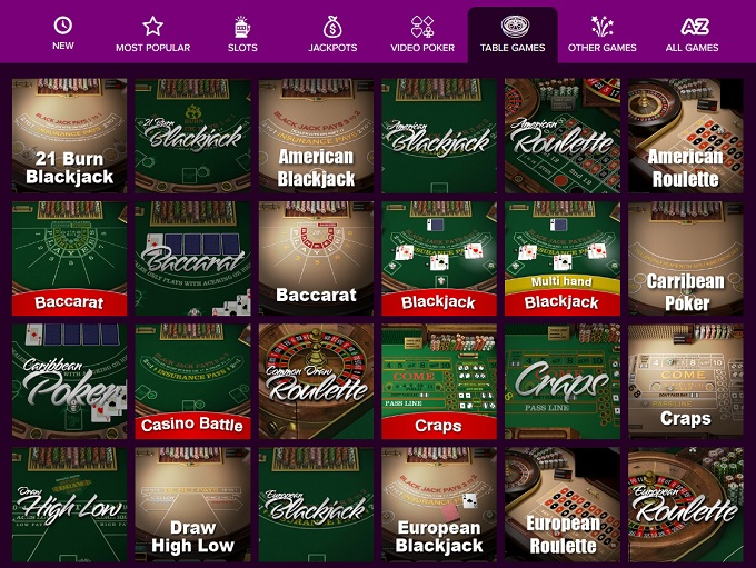 play free online video poker casino games