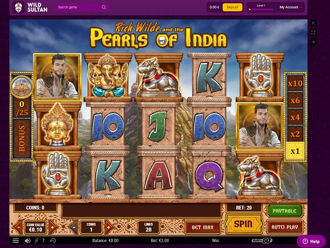Play Arabian Rose Online With No Registration Required!