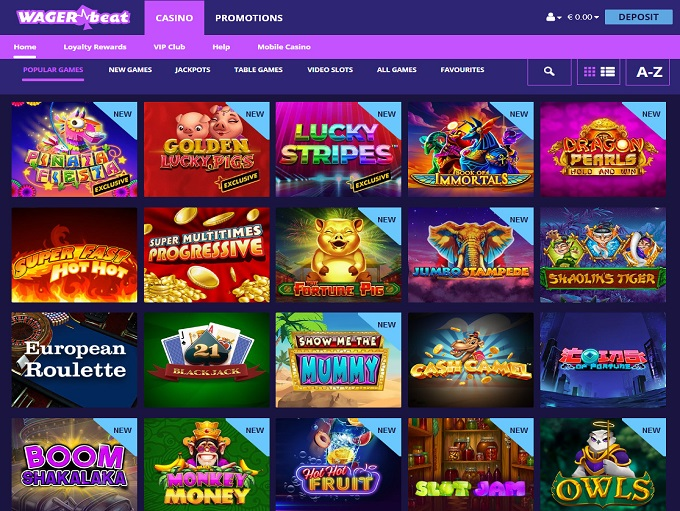 Online Casino Wager