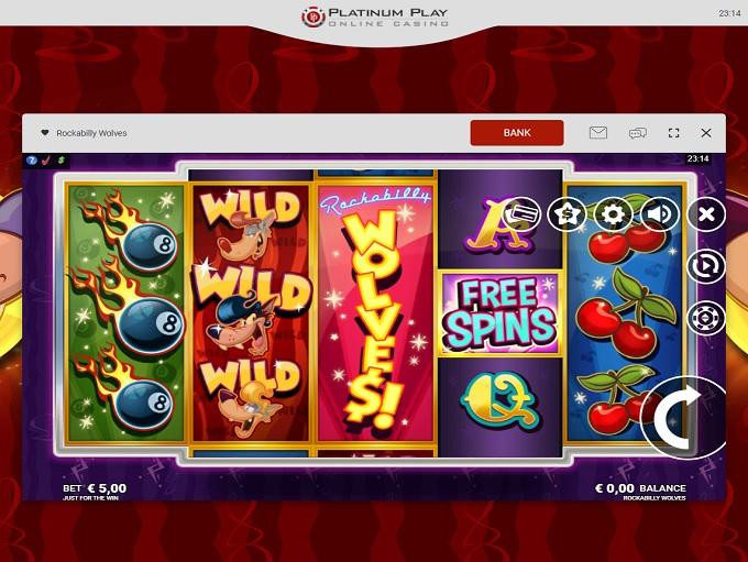 Platinum Play Online Casino Gratis