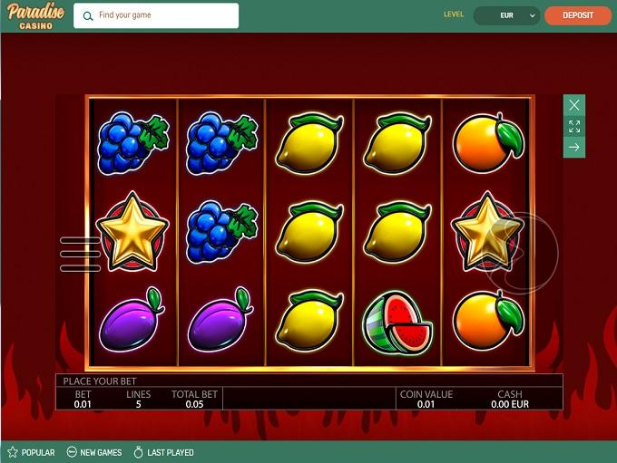 Paradise Casino Online