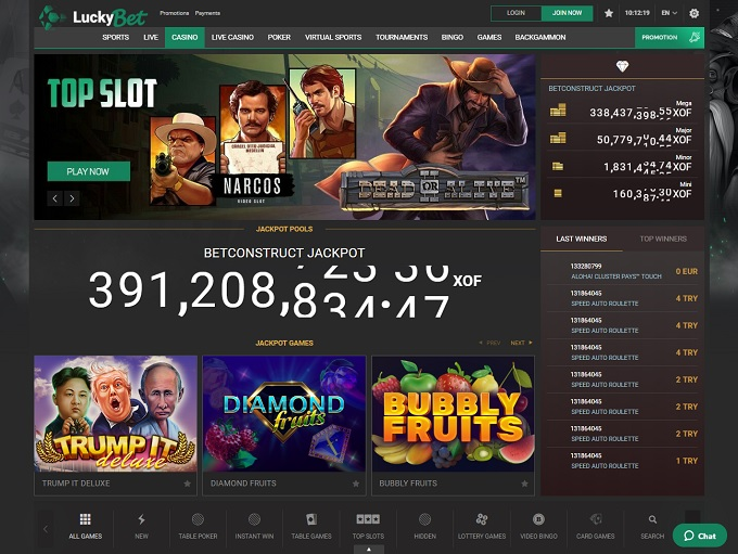 LuckyBet Online Casino Review