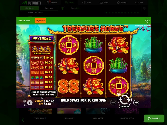 Casino Futuriti