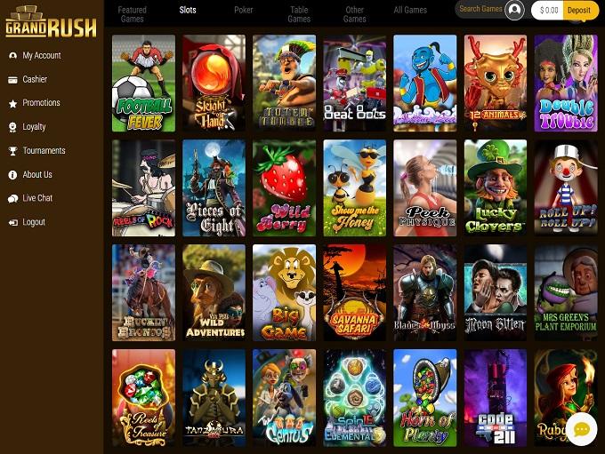 Grand Rush Online Casino Review