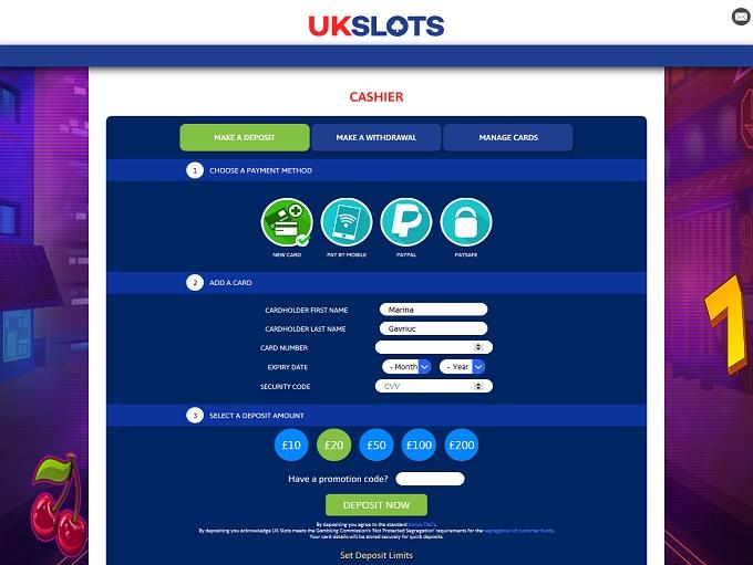 Slots Casino Uk