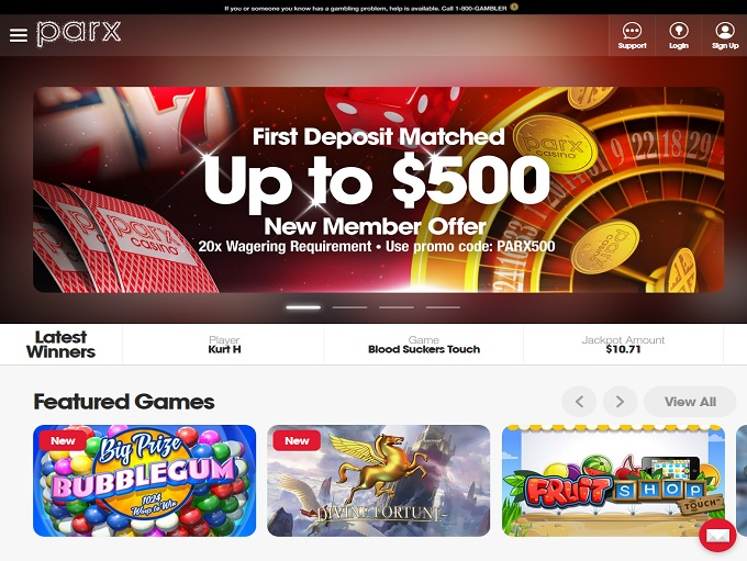 Parx online casino pa review, bonus code and sign up offer 2020