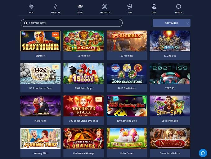 Slotman Casino Online Casino Review