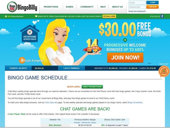 Bingo Billy Casino Online