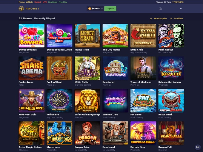 Roobet Online Casino Review
