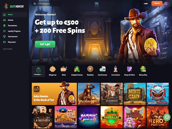 Free Casino Hunter
