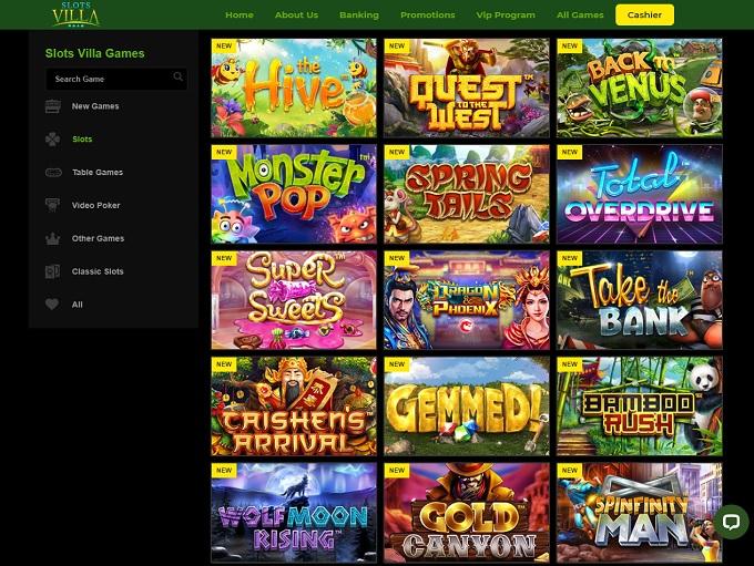 Slots Villa Casino Bonus Codes