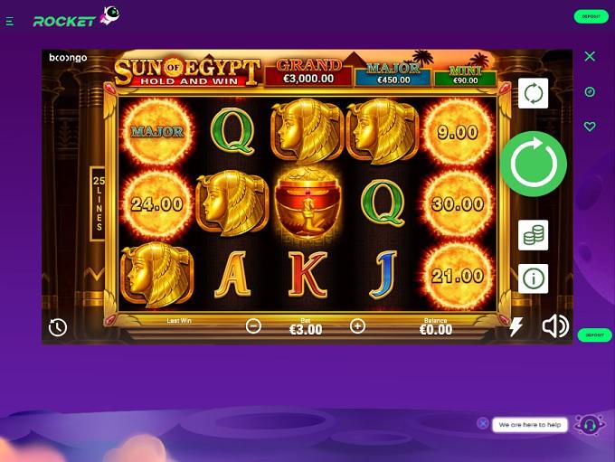 Rocket Games Casino