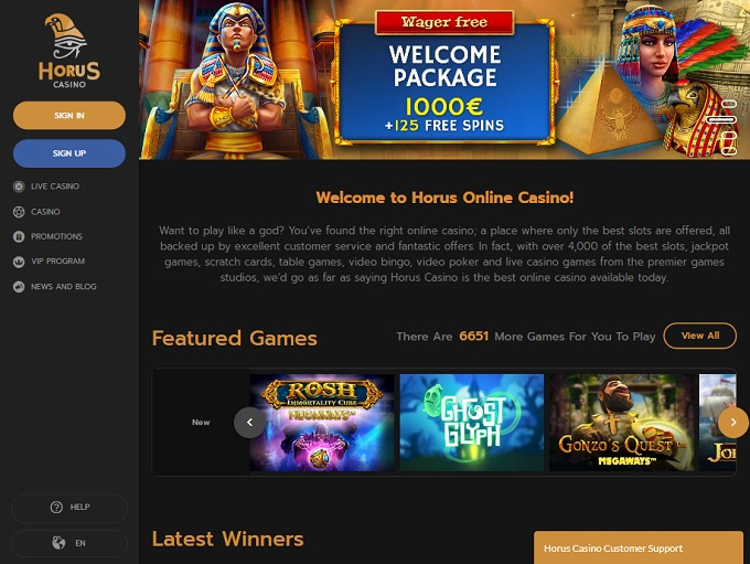 Horus Casino
