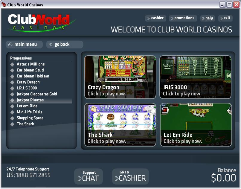 club player casino code