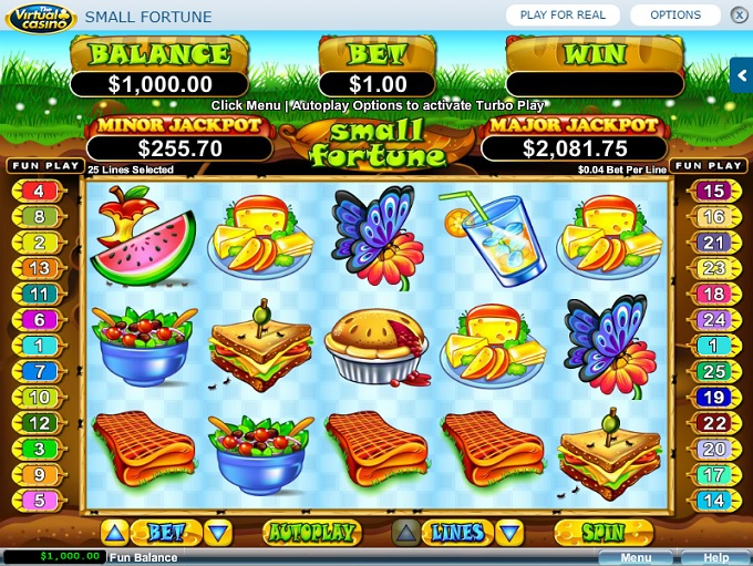 virtual casino games
