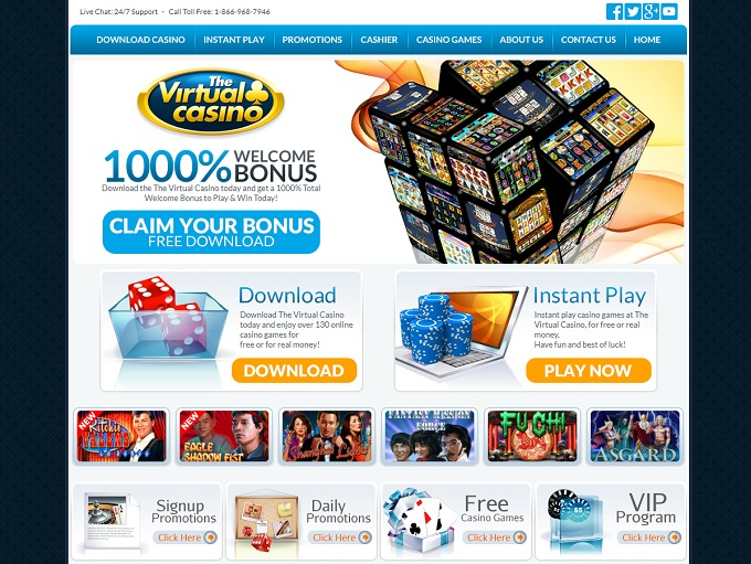 free online virtual casino games