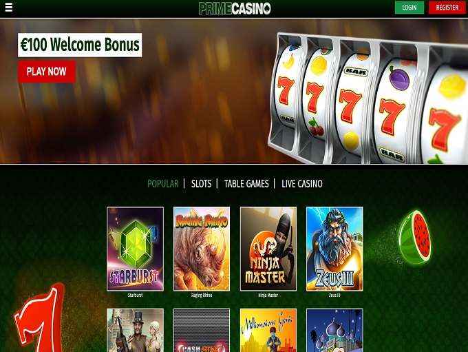 Prime Casino No Deposit