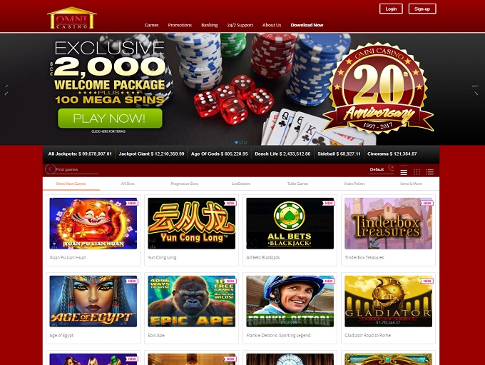 omni online casino review