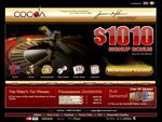 Cocoa Casino Home Page