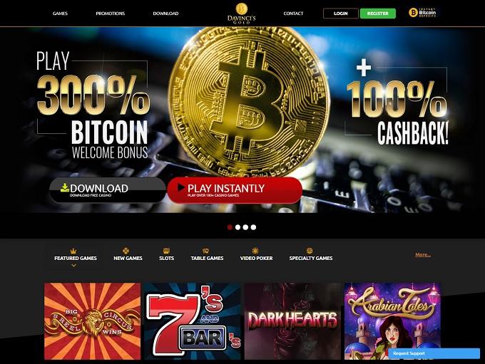 Da Vincis Gold Casino
