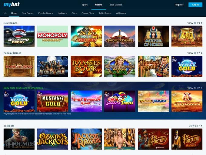 Games Casino Mybet