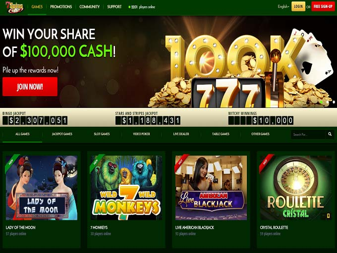 Casino moons free spins