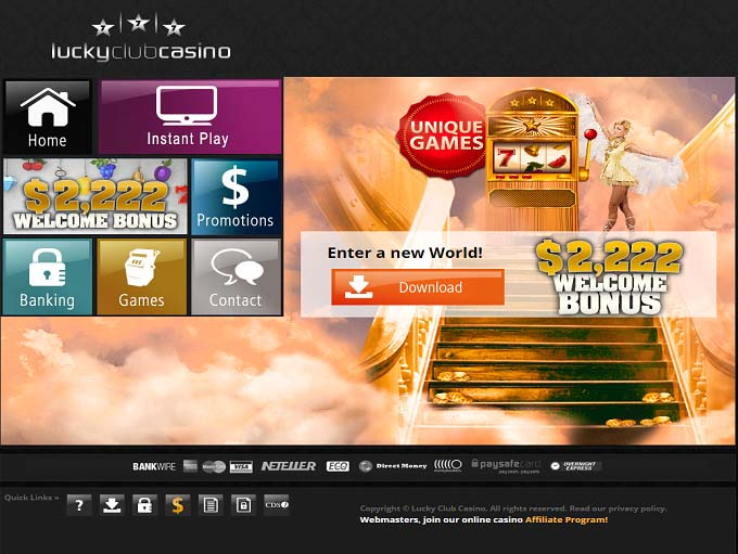 177 Free Spins at Lucky Club Casino
