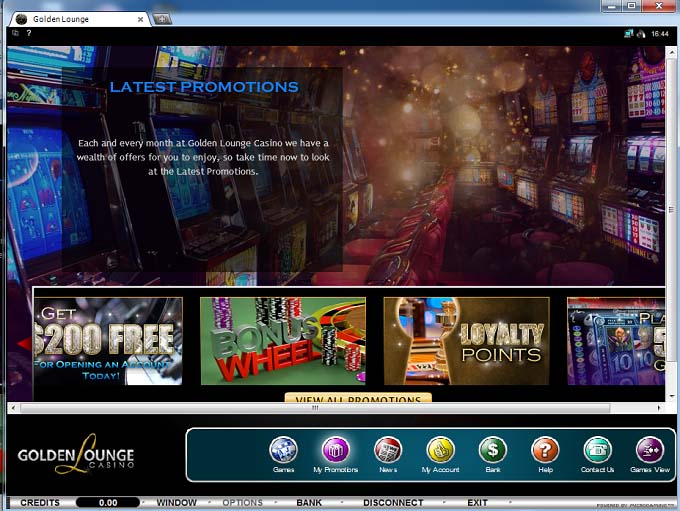 Golden Lounge Online Casino
