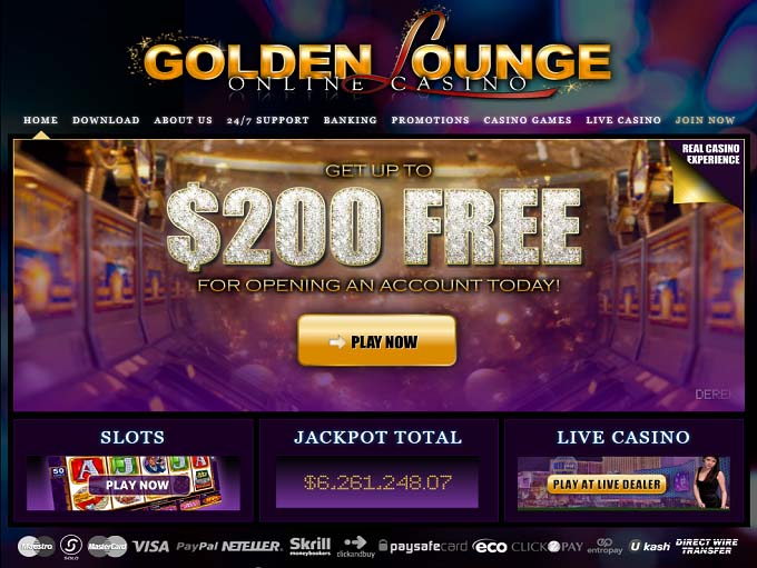 golden online casino kazino games