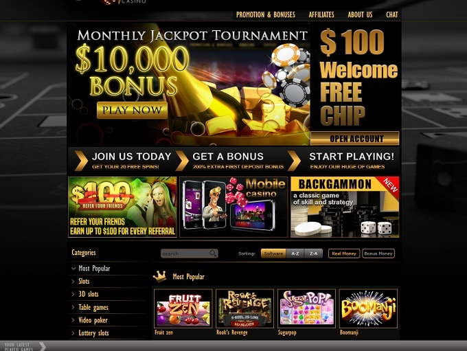 Pamper Casino Sign Up