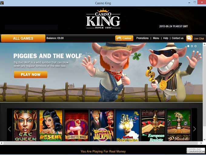 casino games online king casino