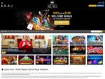 Casino King Home Page